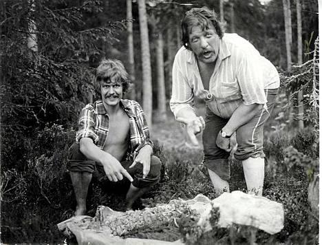 Lampaansyöjät. Heikki Kinnunen ja Leo Lastumäki
