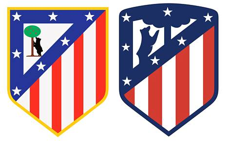 Atlético Madridin logo vuodelta 1947 koki muutoksen vuonna 2017.