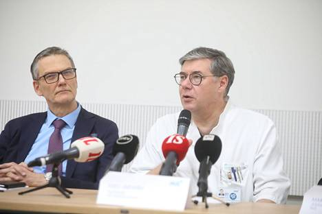 HUS:n infektiosairauksien ylilääkäri Asko Järvinen.