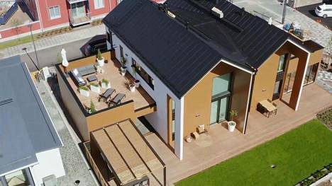Dublio Aalto on yksi Tuusulan asuntomessukohteista. Se saa kiitosta järkevästä tilankäytöstä.