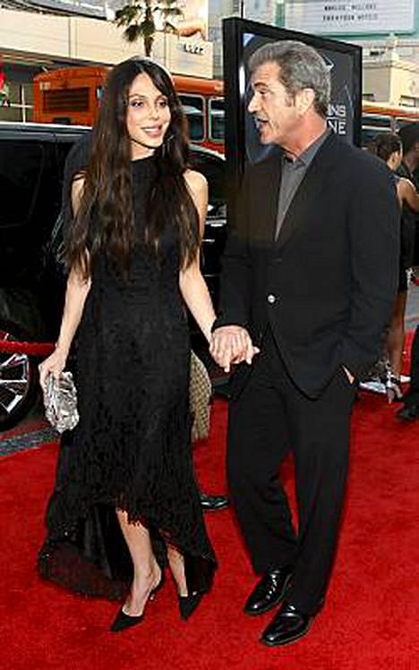 Oksana Grigorieva ja Mel Gibson nähtiin yhdessä ensi kertaa viime kuun lopussa.
