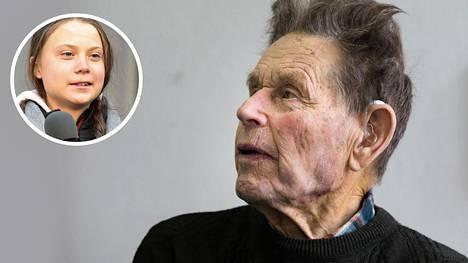 Valtiovallan vaikuttamishalukkuutta epäilevää Linkolaa, 86, kiinnostaa huomattavasti enemmän ruotsalaisen Greta Thunbergin aktivismi.