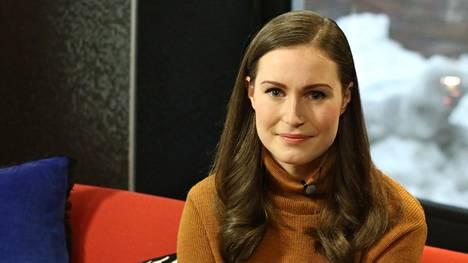 Sanna Marin vierailee Ylen Efter Nio -ohjelmassa haastateltavana. Jakso esitetään 1. helmikuuta.