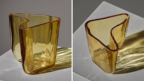Alvar Aallon suunnittelema maljakko myytiin huikeaan hintaan.