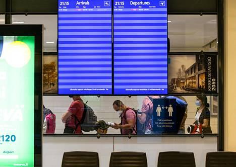 Skopjesta Pohjois-Makedoniasta Turkuun tiistai-iltana saapuneet matkustajat ohjattiin koronatestiin.