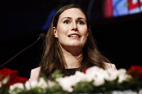 Sanna Marin huudetaan sunnuntaiaamuna Sdp:n uudeksi puheenjohtajaksi ilman vastaehdokasta.