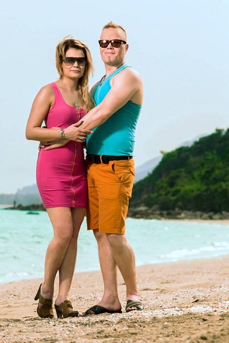 Temptation Island Suomi -sarjan pariskunta Krista Tampio ja Sami Tuomainen olivat sarjassa tunteiden vuoristoradassa.