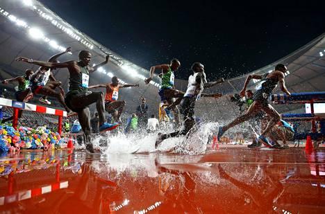 Estekisa ja muut lajit Dohan MM-stadionilla käydään arviolta 22-24 asteen lämpötilassa.