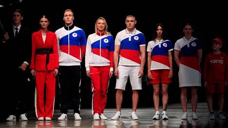 Venäjän kisa-asut on suunnitellut joukkueen virallinen vaatesponsori ZASPORT.