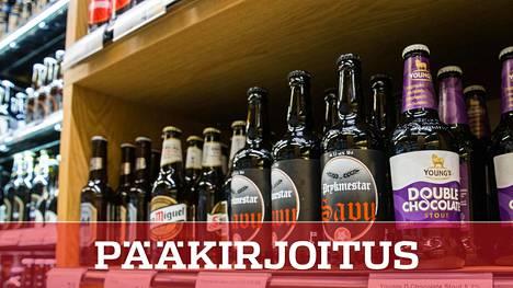 Ruokakaupoista on saanut vuodenvaihteesta lähtien vahvempaa olutta.