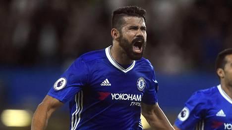 Diego Costa pelasti Chelsealle täydet sarjapisteet.