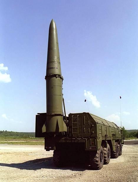 Venäjä siirsi Iskander-ohjusjärjestelmän siviililaivalla Kalingradiin. (Arkistokuva vuodelta 2009.)