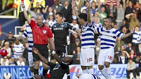 Chelsea näki kahdesti punaista.