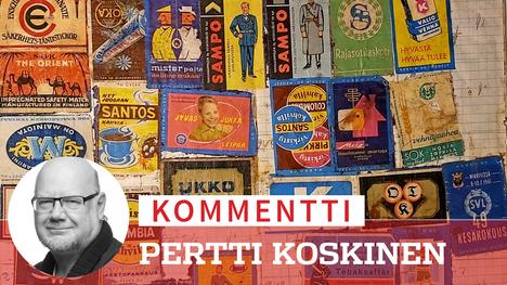 Divarista löytyi tulitikkuharrastajan yhdistetty laskento-, Zorro-purkkakuva- ja etikettivihko 60-luvun alusta. Ukko, Suomi, Sampo ja Colombia-kahvi koristivat askeja siinä kuin voimisteluliiton 49. kesäkokous Mikkelissä.