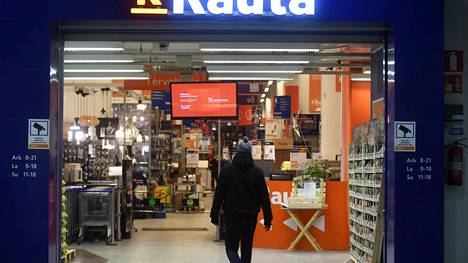 K-Raudan myymälä Helsingissä.