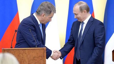 Tasavallan presidentti Sauli Niinistö kutsui Venäjän presidentin, Vladimir Putinin, Suomeen.