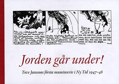 Tove Jansson teki ensimmäiset muumisarjakuvansa jo 1947