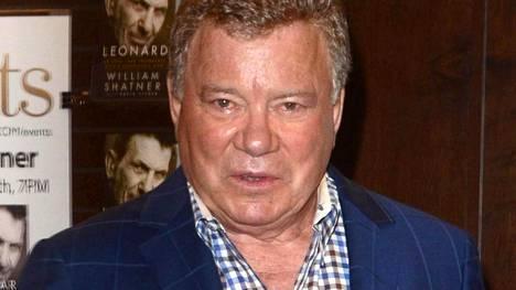 Kuvassa Star Trek -sarjasta tuttu näyttelijä William Shatner.