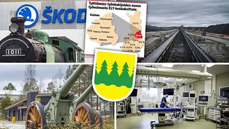 Kainuu porskuttaa muuta Suomea matalammassa työttömyysasteessa.