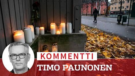 Kolmen alaikäisen epäillään puukottaneen nuoren miehen kuoliaaksi Helsingin Vallilassa.