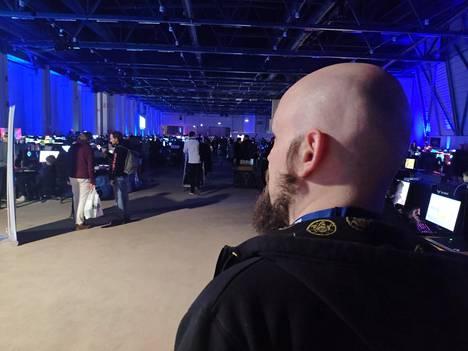 Jarkko Girs, 42, on ollut Assemblyjen turvallisuuspäällikkö kaksi vuotta.
