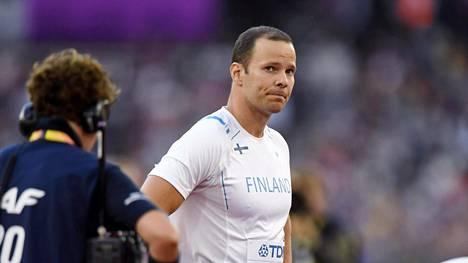 Tero Pitkämäen uran toinen maailmanmestaruus saattaa jäädä haaveeksi.