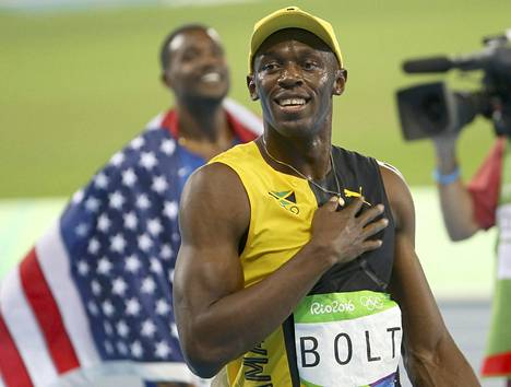 Usain Bolt jätti Justin Gatlinin varjoonsa.