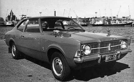 Ford Cortina Helsingissä 1970-luvun alussa.