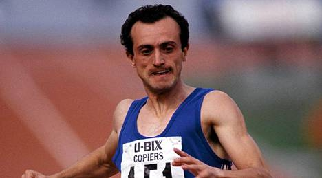 Pietro Mennea voitti olympiakultaa 200 metrillä.
