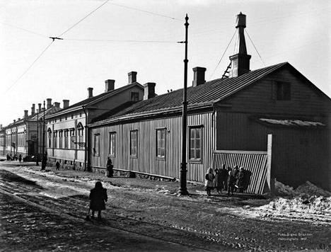 10. Pursimiehenkatu vuonna 1907.