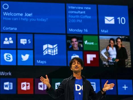 Microsoft-johtaja Joe Belfioren mukaan Windows 10 -käyttäjien yksityisyys on turvattu, vaikka järjestelmä välittääkin käyttötietoja Microsoftille.