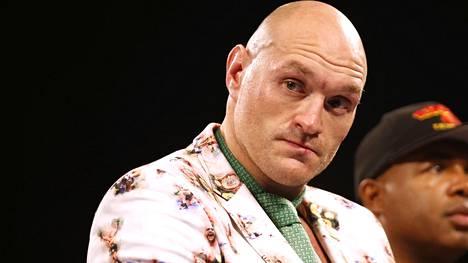 Tyson Fury kohtasi viime vuonna Deontay Wilderin. Brittiottelija oli ylivoimainen.