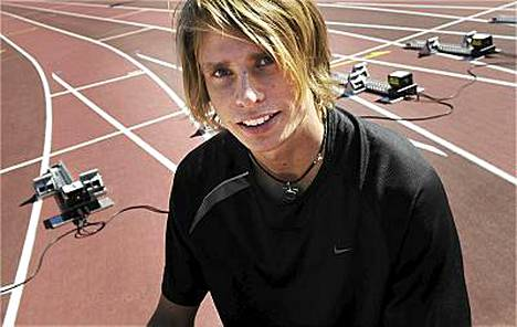 Jussi Heikkilä avasi 400 metrin aitakautensa paremmin kuin koskaan ennen.