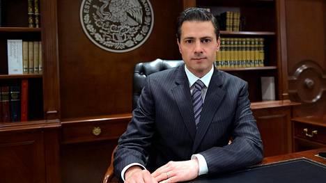 Enrique Peña Nieto on kiistanalainen hahmo.