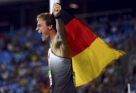 Thomas Röhleristä tuli ensimmäinen saksalainen miesten keihään olympiavoittaja sitten Klaus Wolfermannin, joka heitti kultaa Münchenissä 1972.