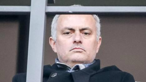 Jose Mourinho oli eilen Berliinissä katsomassa Hertha Berliinin ja Borussia Dortmundin välistä ottelua.