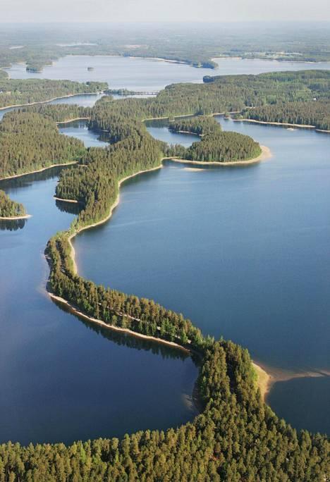 Punkaharjun kansallismaisema on kappale kauneinta Suomea.