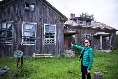 Vanhat talot herättivät muistot pintaan.