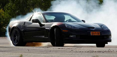 Tämä Chevrolet Corvette Grand Sport Coupe tuskin polttaa kumeja Lappeenrannassa viikonloppuna, mutta muita ärhäköitä autoja siellä nähdään.