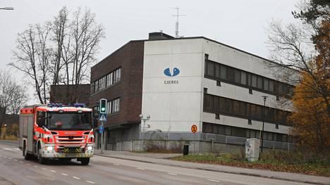 Laurean ammattikorkeakoulun Espoon Leppävaaran kampuksella oli uhkaava tilanne.
