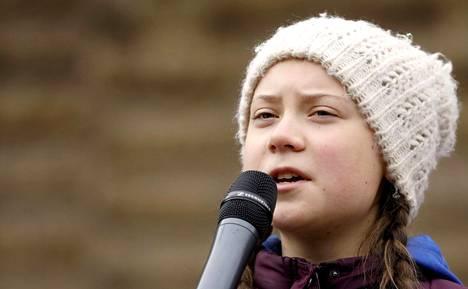 Ruotsalainen ilmastoaktivisti Greta Thunberg.