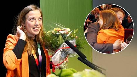 Li Andersson, 29, kukitettiin lauantaina Vasemmistoliiton puheenjohtajaksi puoluetta viime vuodet johtaneen Paavo Arhinmäen jälkeen.