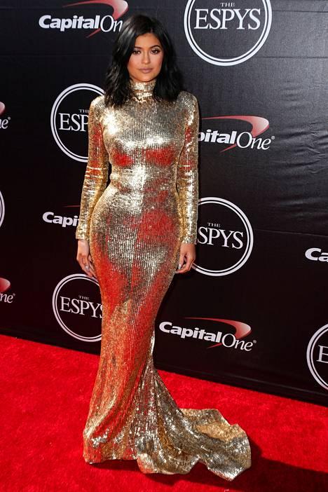 Kylie Jenner kuvattuna viime viikolla.