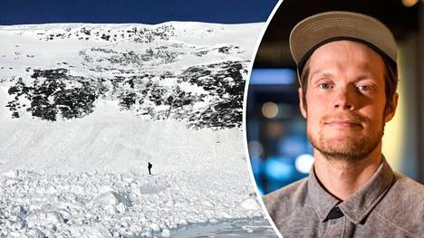 Antti Autin mukaan kyseessä oli isoin hänen Suomessa näkemänsä lumivyöry.