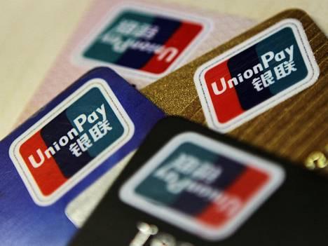 UnionPay on yhteistyössä Kiinan suurten pankkien kanssa.