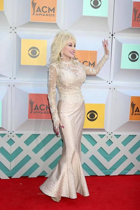 Dolly Parton Academy of Country Music Awards -gaalassa Las Vegasissa huhtikuussa 2016.