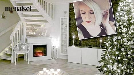 Kaisa, 33, rakentaa joulua koko vuoden – tältä näyttää hänen alle 100 euroa maksanut kiistelty joulusisustuksensa