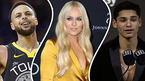Steph Curry, Lindsey Vonn, Ryan Garcia ja kumppanit olivat mukana urheilullisessa hyväntekeväisyystempauksessa.