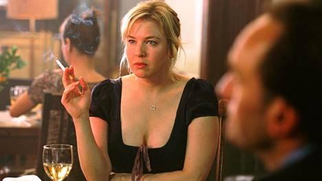 Bridget Jones jos kuka tietää, millaista on, jos kumppania ei tunnu löytyvän. Kuva elokuvasta Bridget Jones: Elämä jatkuu