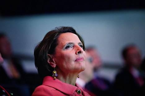 Anne Berner toimi liikenneministerinä vuosina 2015–2019.